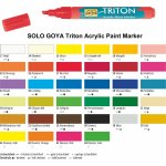 SOLO GOYA Triton Acrylic Paint Marker...