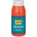 SOLO GOYA 17003 Triton Acrylic Echtrot 750 ml