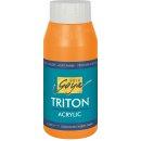SOLO GOYA 17062 Triton Acrylic Fluoreszierend Orange 750 ml