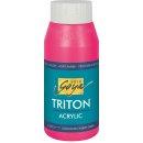 SOLO GOYA 17063 Triton Acrylic Fluoreszierend Pink 750 ml