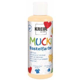 MUCKI 24104 -  Bastelfarbe Hautfarbe 80 ml