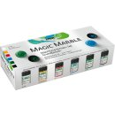 KREUL 73600 Magic Marble Marmorierfarben Set Grundfarben...