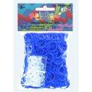 Rainbow Loom® Latex-freie Gummibänder ozeanblau...