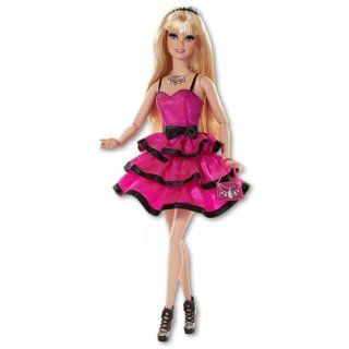 Mattel Barbie Party-Moden, Fashionistas Sortiment