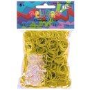 Rainbow Loom® Silikonbänder Olivenengrün /...