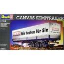 REVELL 07571 Anhänger Canvas Semitrailer