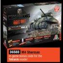 ITALERI (6503) 1:35 US M4 Sherman WoT