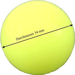 Tischfußballkugel weiß je Stück