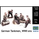 German tankmen, WWII era in 1:35