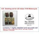1/35 Detailing set for US Indian 741B motorcycle