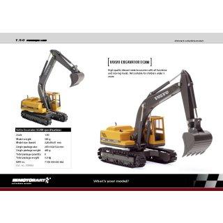 Motorart 1000064 - Volvo Excavator EC280  1:50
