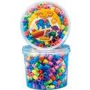 HAMA 8571-00  600 Maxiperlen i Dose Mix Pastell (16)