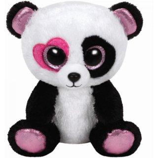 Mandy-Panda rosa Herzauge,ca. 15cm, lim.