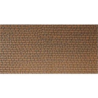 FALLER (170611) Mauerplatte, Sandstein, rot