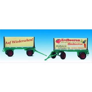"""Anhänger Landwirtschaft (Schilderwagen ,, Erdbeeren"""""""