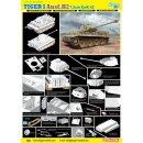 DRAGON 500776683 1:35 Tiger I Ausf.H2