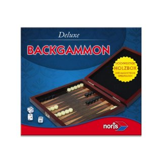 Noris 606108004 - Deluxe Reisespiel Backgammon