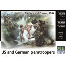 MASTER BOX 35157 U.S. and German paratroopers,South of Eu