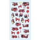 SOFTY-Sticker Feuerwehr