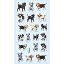 SOFTY-Sticker Hunde