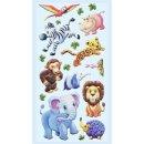 SOFTY-Sticker Zootiere-Afrika