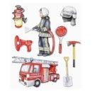 3D XXL-Sticker, Feuerwehr