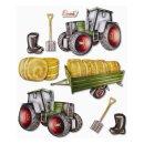 3D XXL Sticker Traktor
