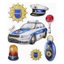 3D XXL Sticker Polizei