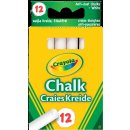 Crayola 002807 KLASSIK -  Weiße Kreide (12x)