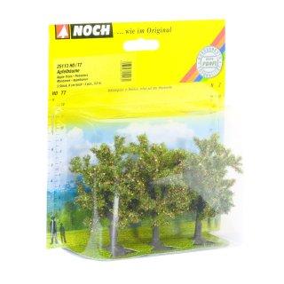 NOCH ( 25113 ) Apfelbäume, 3 Stück, 8 cm hoch H0,TT