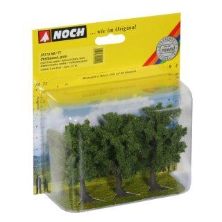 NOCH ( 25110 ) Obstbäume, grün, 3 Stück, 8 cm hoch H0,TT