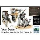 Master Box Ltd.: Man Down! U.S. Modern Army,Middle east