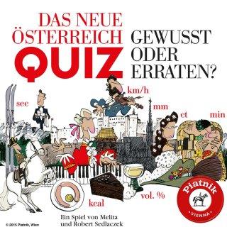 PIATNIK 612695 - FAMILIENKARTENSPIEL Das neue Österreich-Quiz
