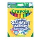 Crayola 083281 KLASSIK -  8 Ultra Clean aus- &...
