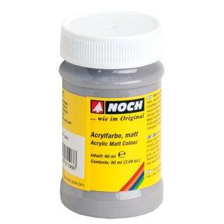 NOCH ( 61196 ) Acrylfarbe, matt, grau G,0,H0,H0E,H0M,TT,N,Z