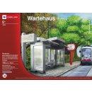 Wiener Linien Busstation aus Legosteinen
