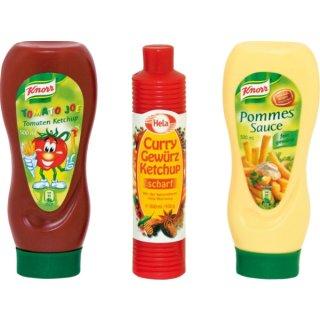Tanner 0061 - Ketchup Flaschen Sortiment