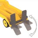 BIG 800055805 - Power-Worker Mini Transp. + Bagger