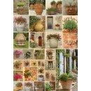 PIATNIK 545542 - 1.000 T. Blumentöpfe