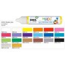MUCKI 24437 -  Window Color Glitzer-Silber 29 ml