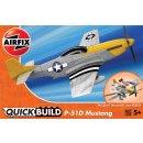 Airfix - J6016 P-51D Mustang Quickbuild