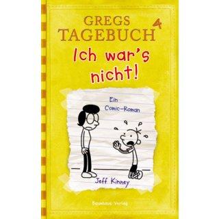 Gregs Tagebuch Band 4 - Ich wars nicht!