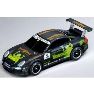 """CARRERA 20061216 GO CARS Porsche GT3 """"Monster FM, U.Alzen"""""""