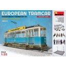 MiniArt 38009 - European Tramcar(Strassenbahn Triebwagen...