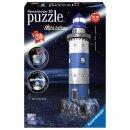 Ravensburger 3D Puzzle-Bauwerke - 12577 Leuchtturm bei Nacht