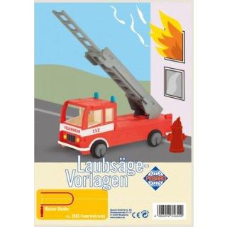 Laubsägev. Feuerwehrauto