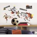 Wandsticker Fußball Soccer