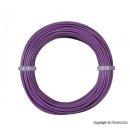 Viessmann 6867 - Kabelring, 0,14 mm², lila,10m