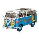 REVELL 07050 - VW T1 Samba Bus Flower Power 1:24