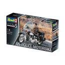 REVELL 07915 - US Police Motorbike 1:8